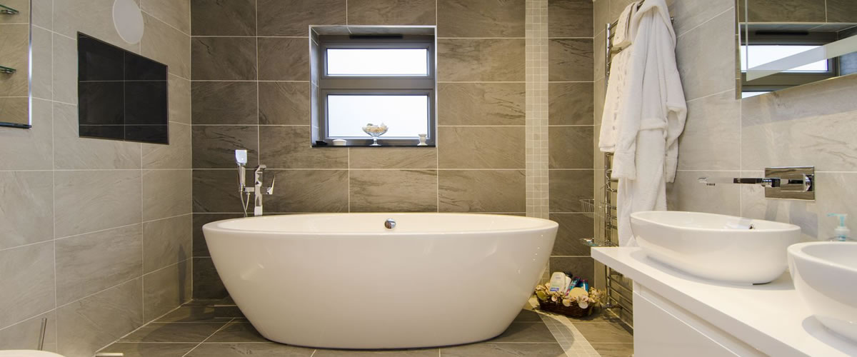 origin aluminium windows bathroom grey