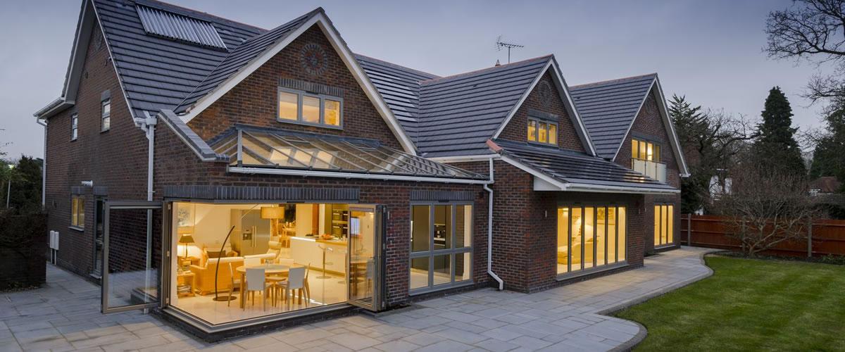 origin aluminium windows for barn conversion