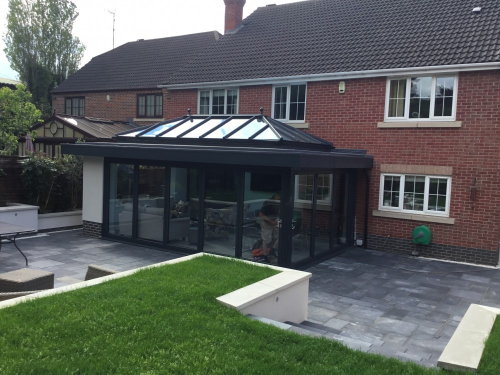 Anthracite grey Orangery Nottingham