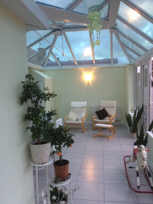 French Grey L Shaped Conservatory Basfords