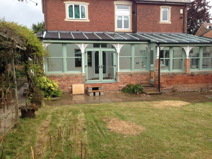 Conservatory in Long Eaton