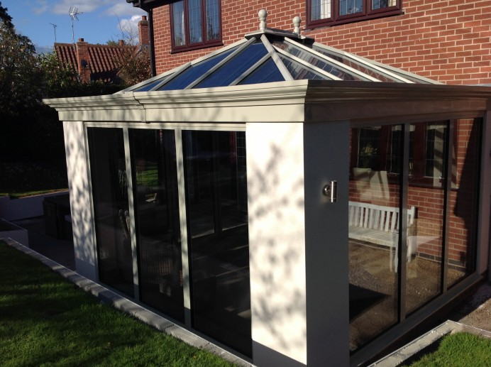 French Grey Orangery in Leicester