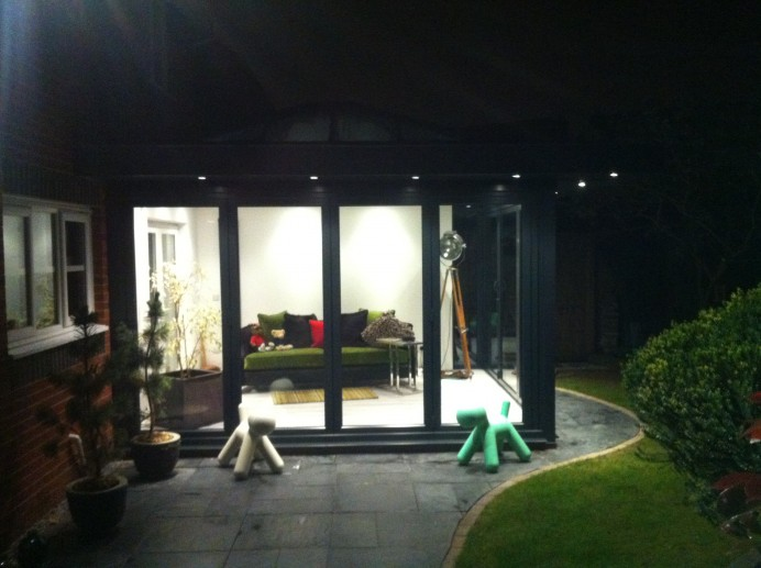 Orangery at Night in Leicester
