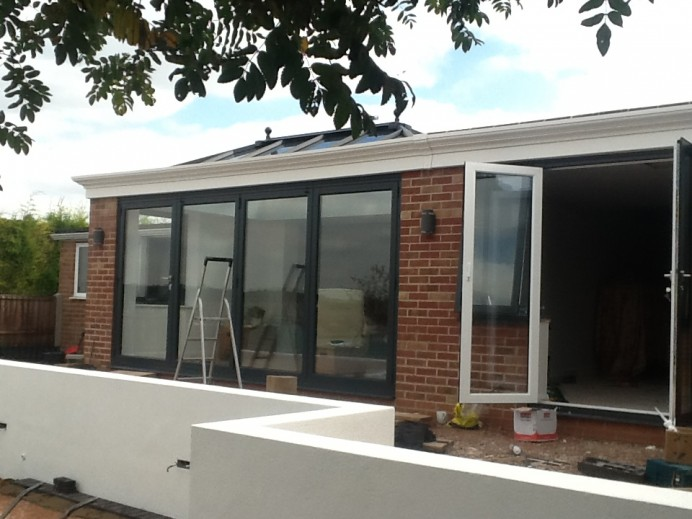 A New Space From A New Orangery in Derby