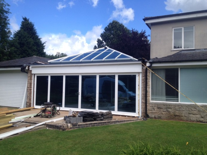 One Of Our Largest Orangeries in Nottingham