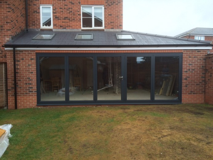 Extension and Bi-Folds in Derby