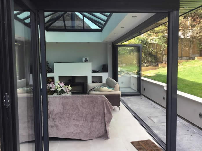 Orangery With Log Burner In Mansfield Basfords