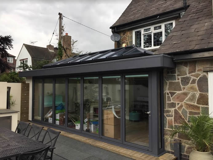 Double Orangery and Office Space