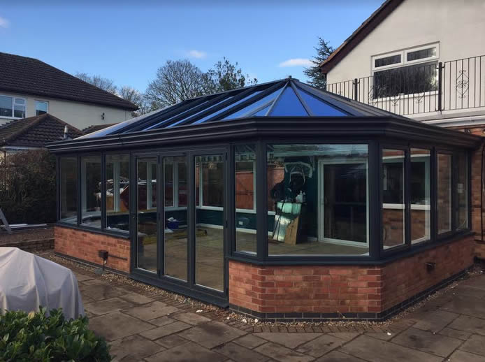 Conservatory to Orangery Transformation