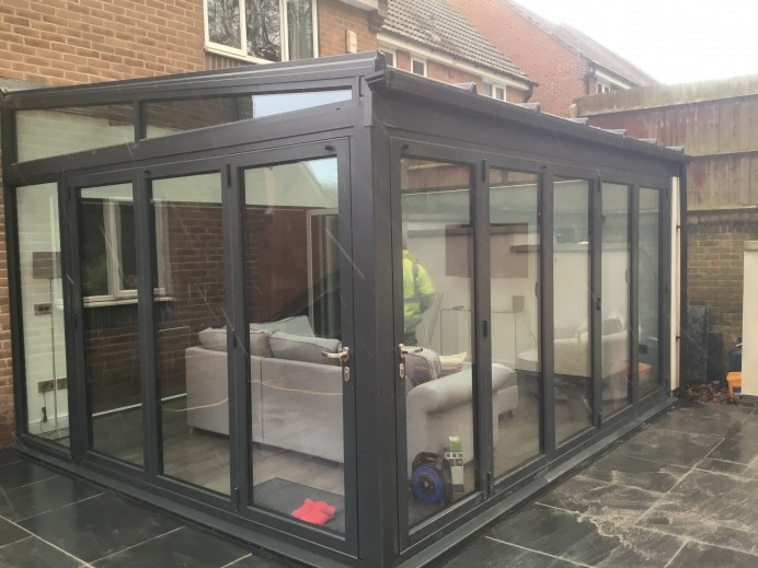 Anthracite Grey Conservatory Basfords