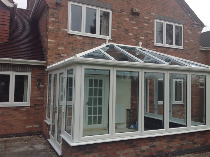Conservatory Installation on Property we Have Worked on Previously