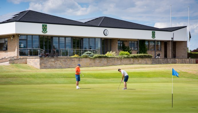 Bi Fold Door Installation at Worksop Golf Course