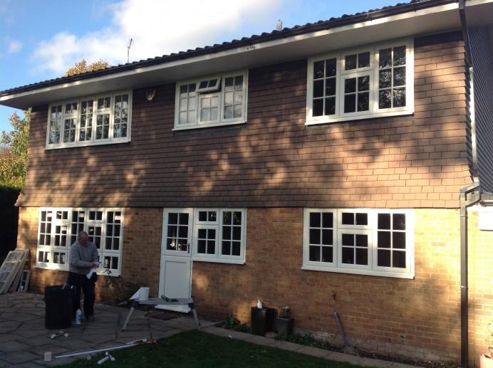 Sash Windows and Sash Doors Installed