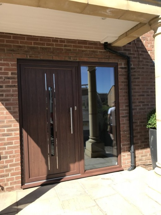 Origin Aluminium Residential Door Installed