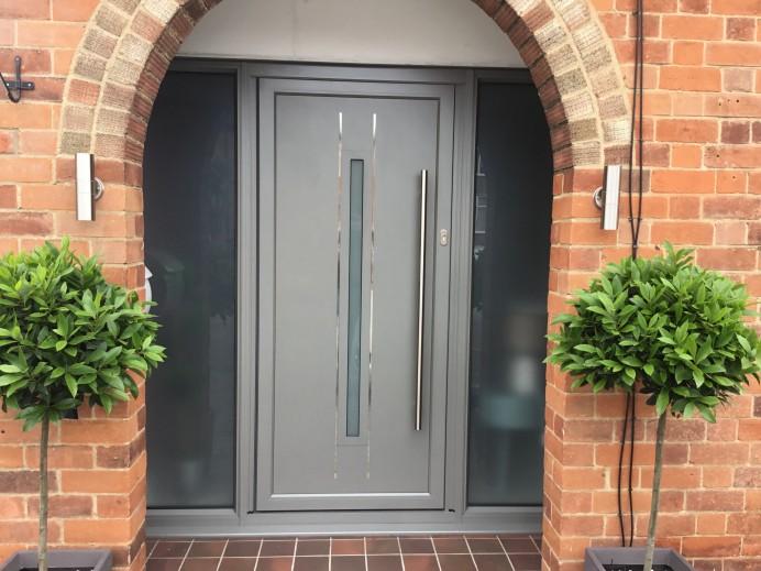 Origin Residential Door Installed