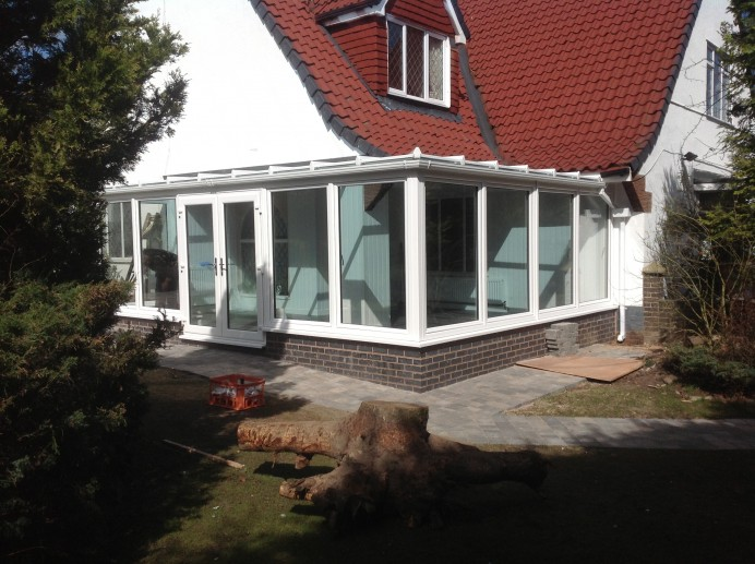 Flat Roof Designed Conservatory Installed