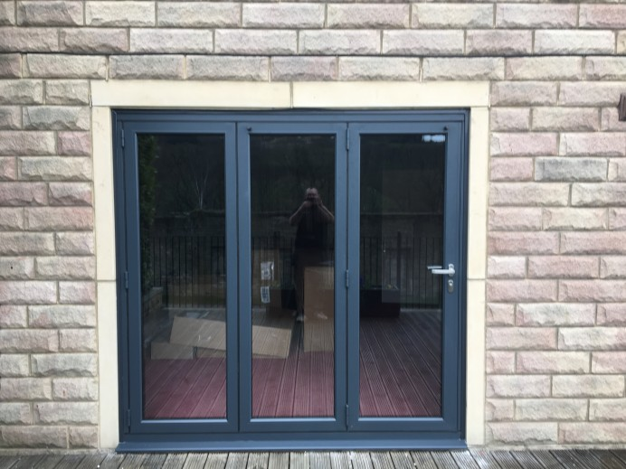 Replacing a French Door with a Bi Fold