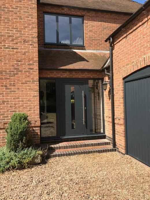 Aluminium Windows and Doors Installed in Property