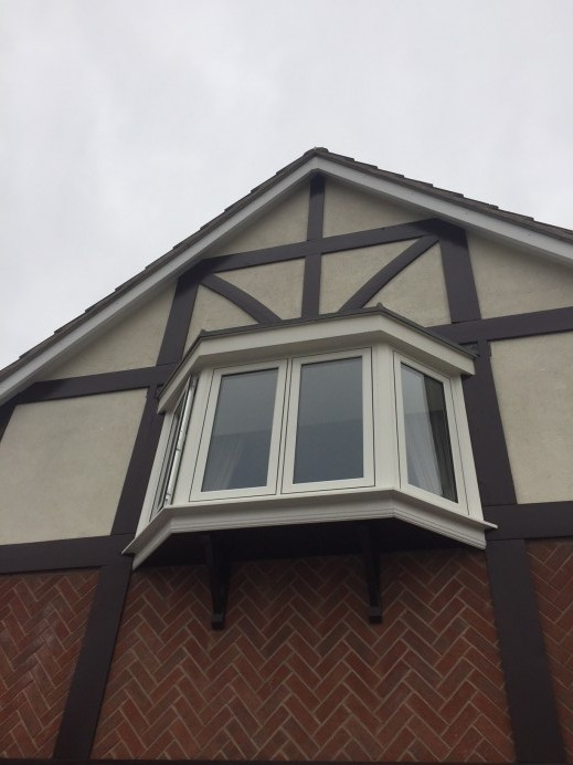 Contrasting Window Colours in One House