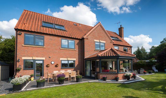 Full Property Fitted With Origin Aluminium Windows