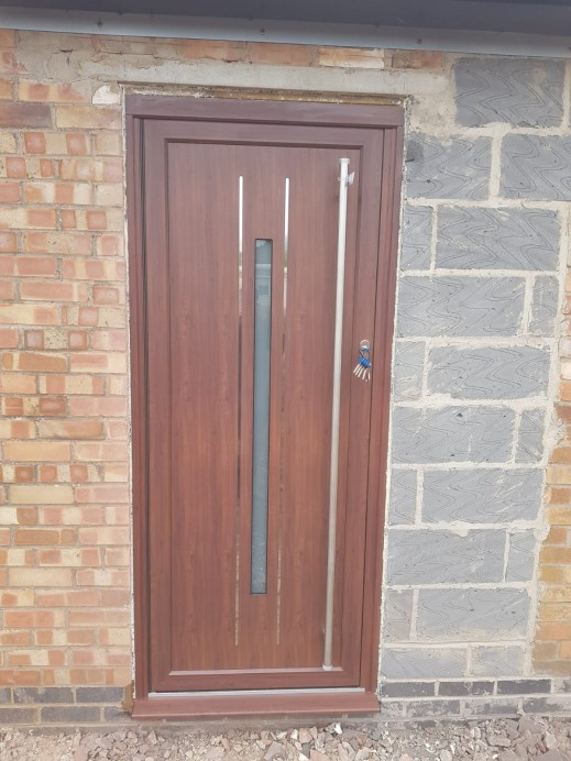 Two Origin Residential Doors At One Property