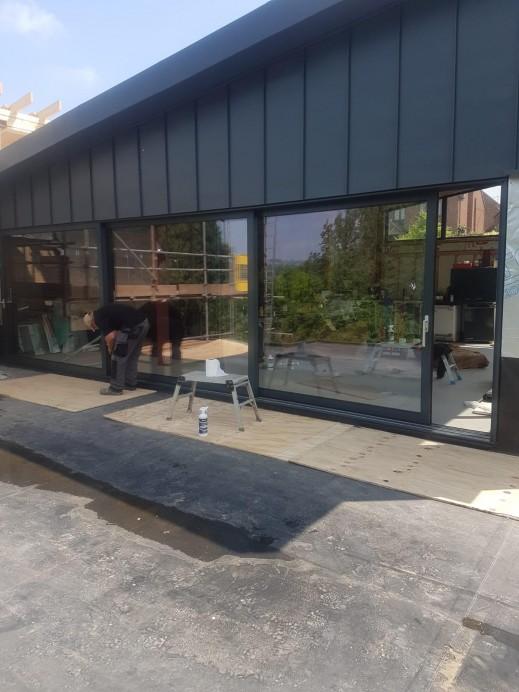 10 Metre Sliding Door Installed at Customers Home