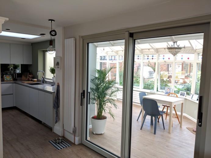 Interior Dutemann Sliding Door Installation