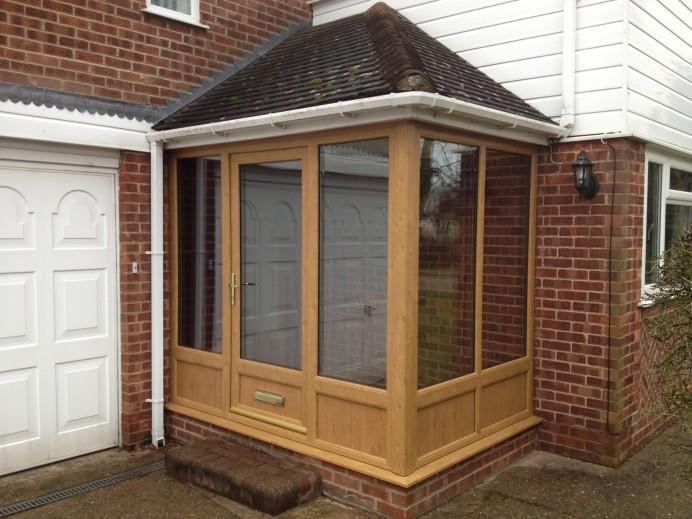 New Porch Area