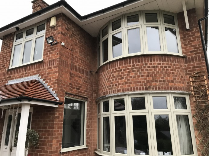 Pebble Grey Windows Fitted