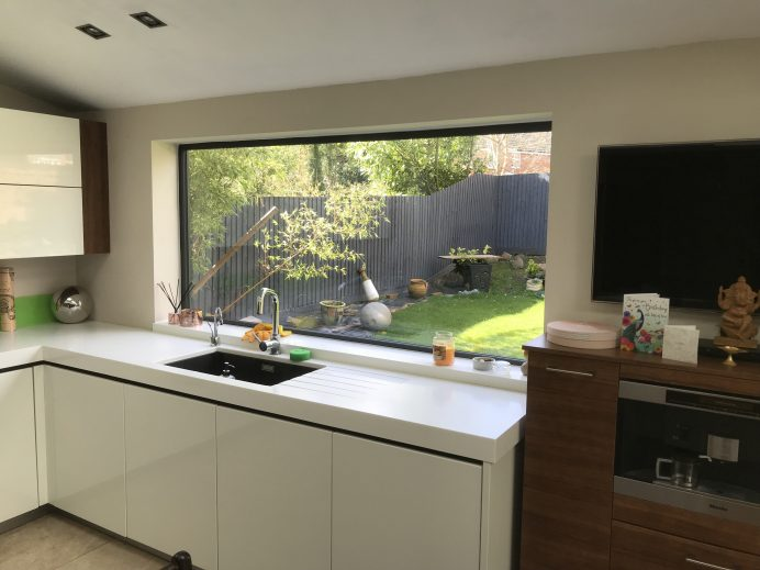 Large Hall and Kitchen Window Installed