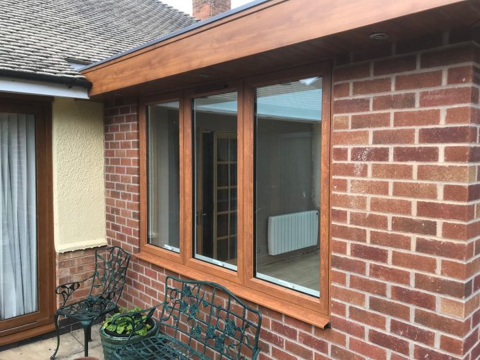 A Different Kind of Finish For an Orangery
