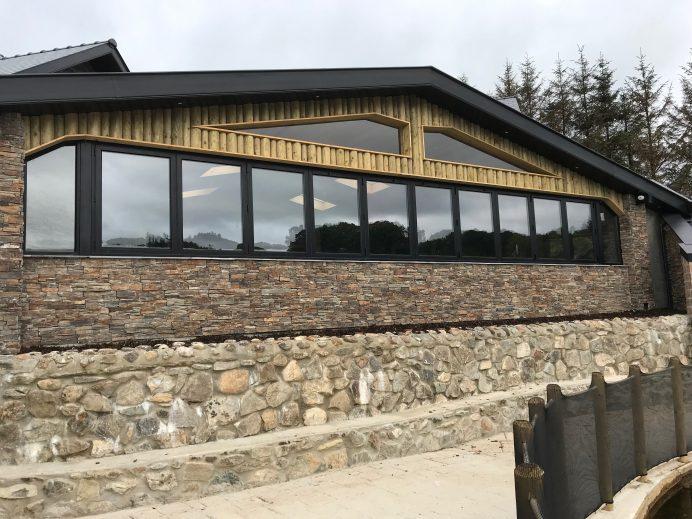 Bi Folding Window Installed at a Golf Club House
