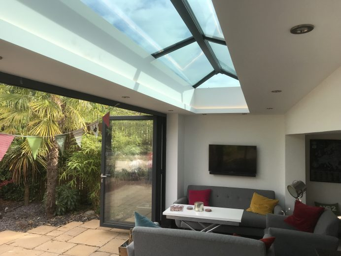 A New Orangery Built to Allow More Light Into Home