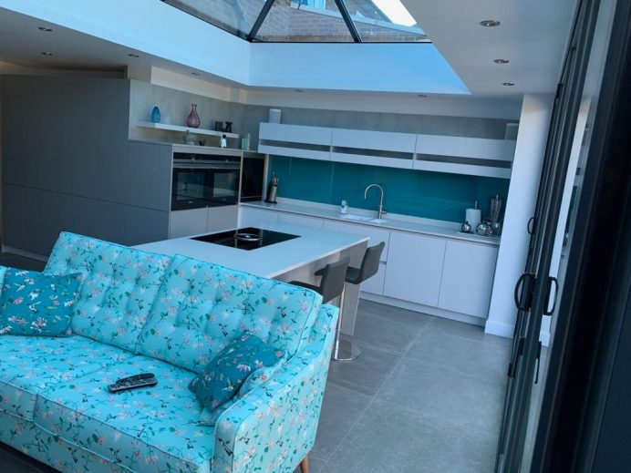 Orangery Used as a Kitchen and Sitting Area