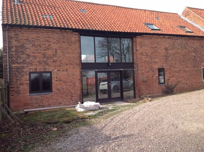 Barn conversion completed with Stunning Origin Windows