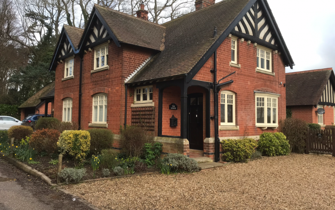 Conservation Area Approved Windows Fitted in Hunting Lodge