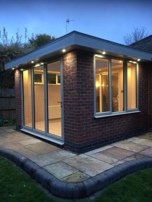 Conservatory Replaced With an Orangery