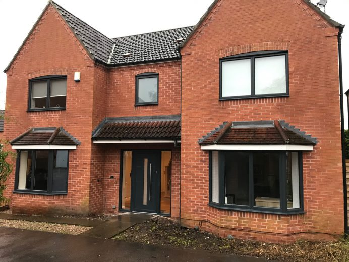 Property Fitted with Origin OW70 Windows and a new Origin Residential Door