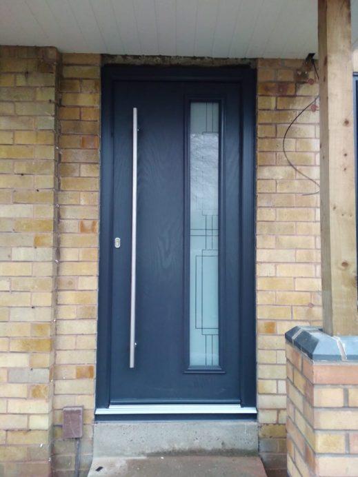 Modern Designed Composite Door