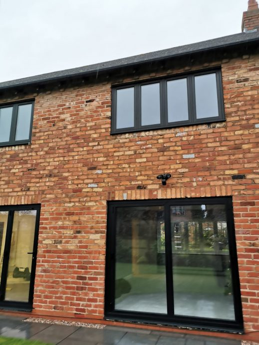 Timberlook Windows Fitted Alongside Origin Bi Fold Doors