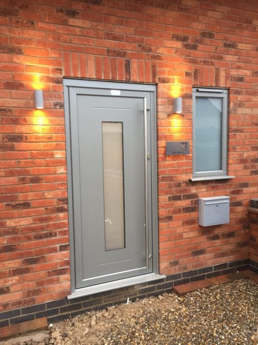 Dark Silver Metallic Origin Products Fitted in a New Build