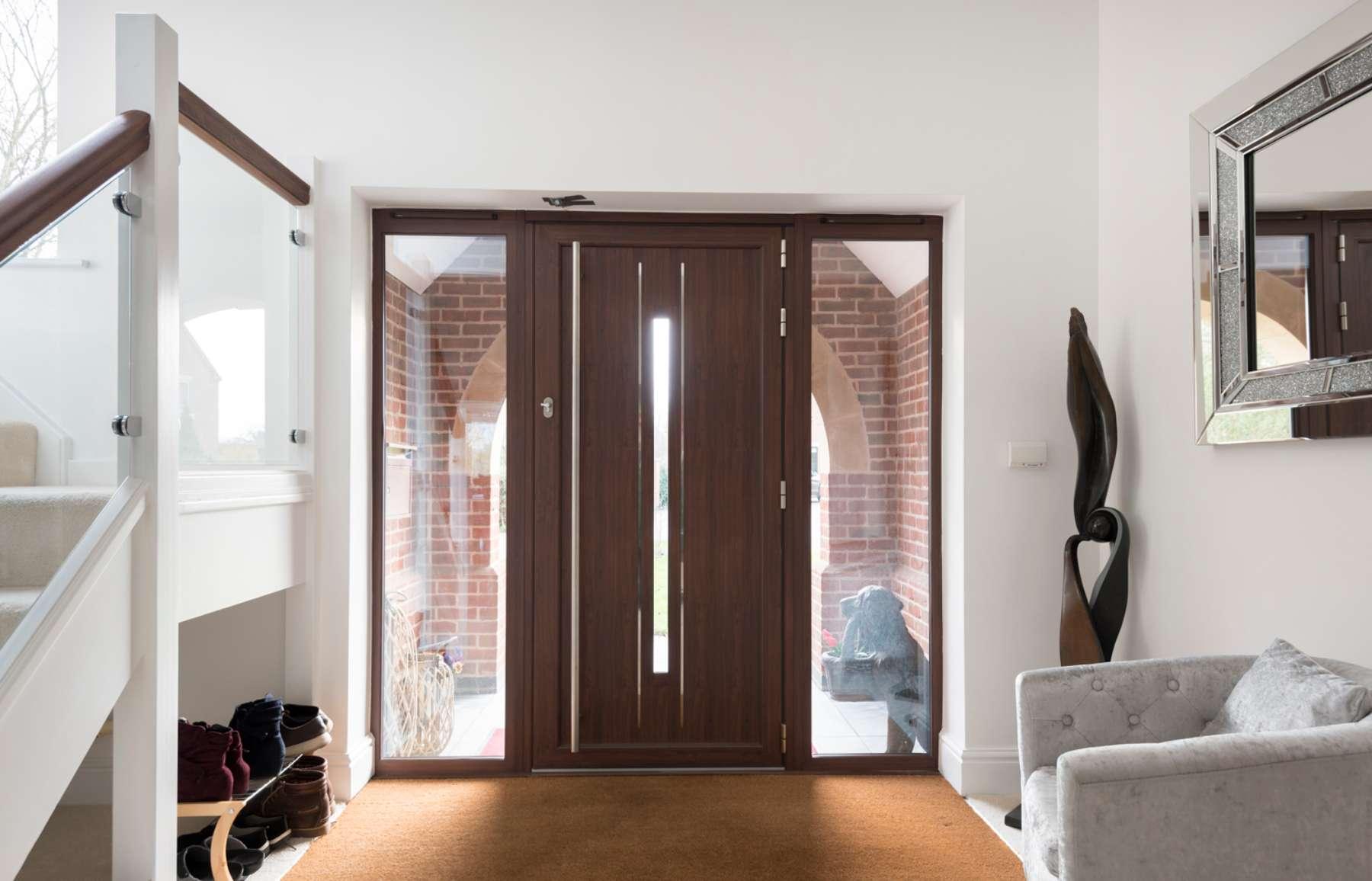 Aluminium entrance doors Nottingham
