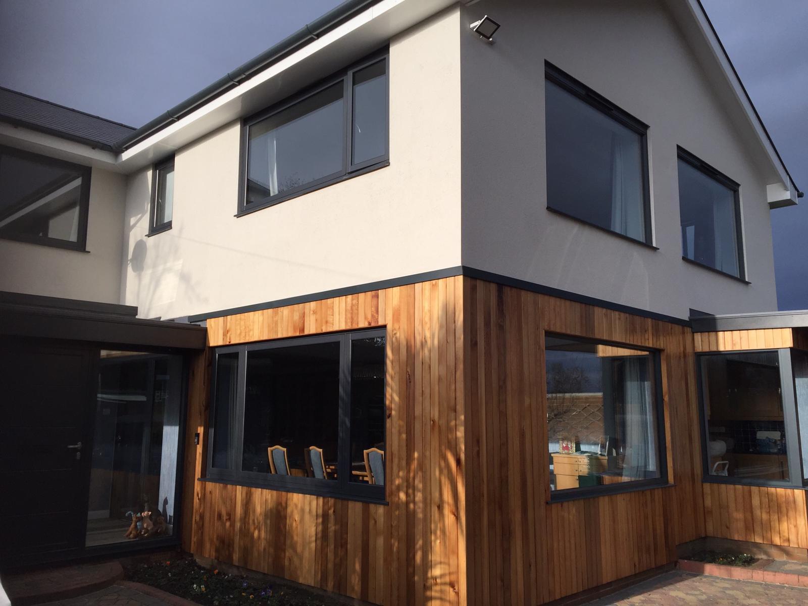 slimline aluminium windows nottingham