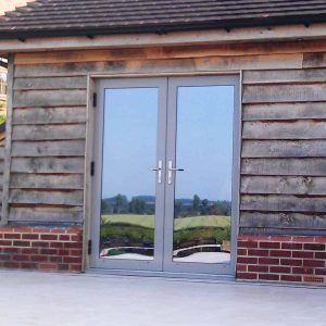 origin aluminium french doors nottingham