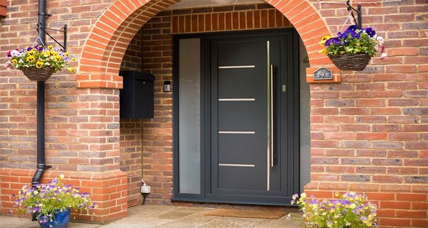 origin aluminium entrance doors leicester